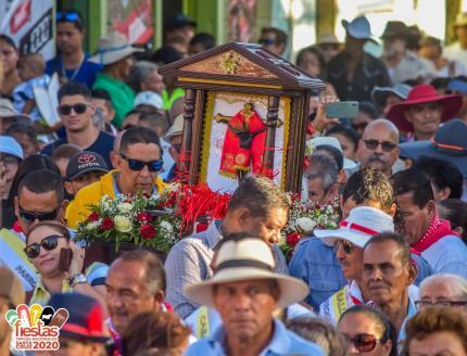 La Entrada del Cristo de Esquipulas. Foto: Facebook Fiestas de Santa Cruz
