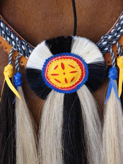 Artesanía elaborada en crin de caballo característica de la región Chorotega. Por: Centro de Patrimonio Cultural.